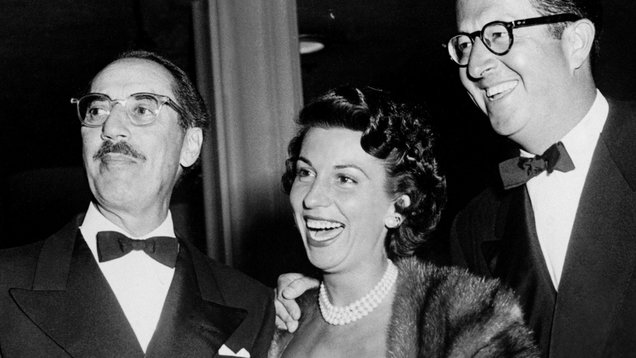 Entertainment - Nancy Sinatra, Groucho Marx and Phil Silvers - Hollywood, Los Angeles