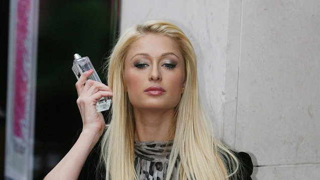 Paris Hilton launches her new perfume Heiress - Dublin