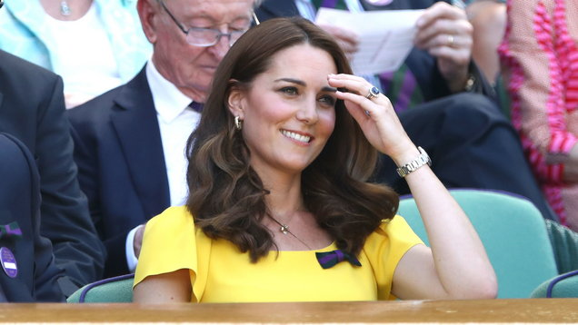 In Pictures: Kate joins stars as Wimbledon draws to a close