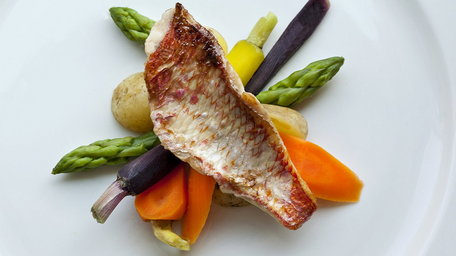 Red Mullet with sauted potatoes