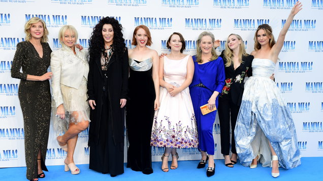 Mamma Mia! Here We Go Again Premiere - London