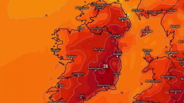 Met Éireann expect temperatures set to SOAR again