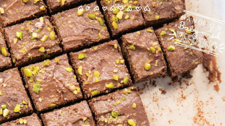 Black Bean Brownies with Avocado Frosting