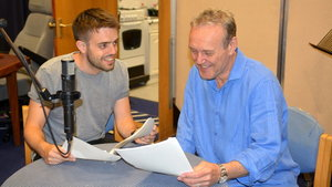 Rhys Bevan (Toby Fairbrother) and Anthony Head (Robin Fairbrother) (The Archers/BBC Radio 4)