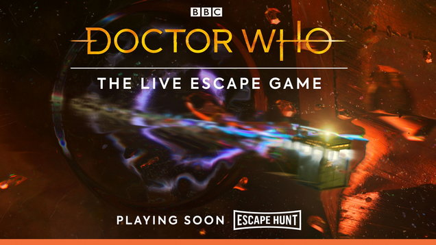 Doctor Who escape rooms
