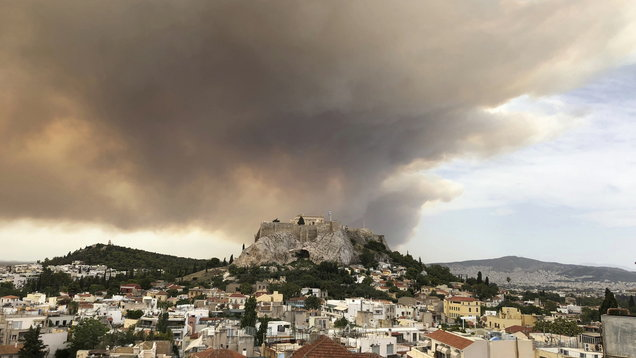 Authorities Find Bodies of 26 Family Members, Some Hugging, During Greek Wildfires