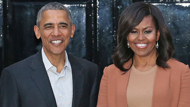 Barack and Michelle Obama jam at Beyoncé and Jay-Z concert