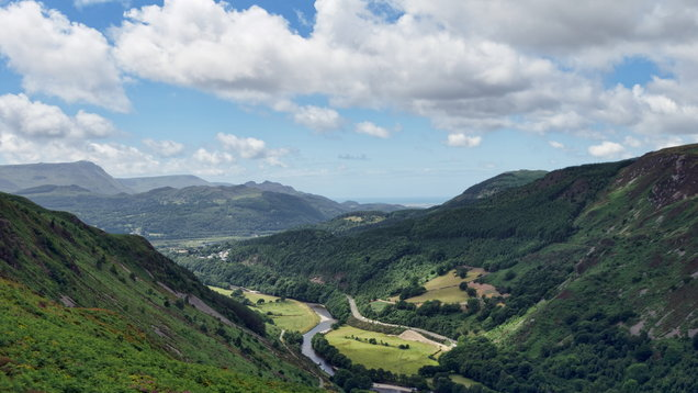 Mawddach Estuary from the Precipice Walk