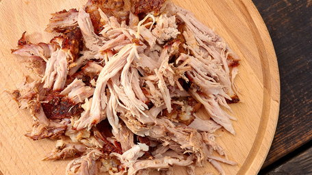 Pulled Pork, Asian Slaw