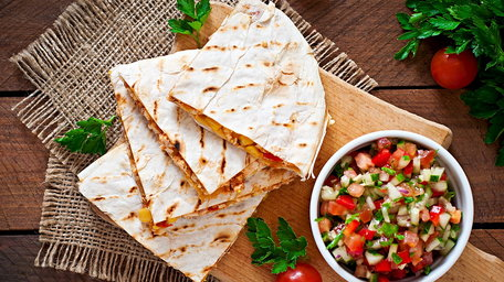 Mexican Wheat Quesadillas