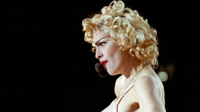 Music - Madonna - Wembley Stadium - 1990
