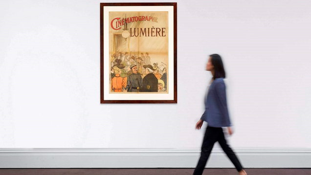 The world's first film poster (Sotheby's)