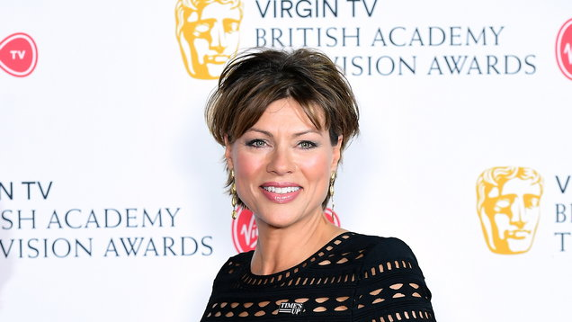 ad42f6d186002 Newsreader Kate Silverton is having shoes made specially for her stint on  Strictly Come Dancing to fit her large feet.