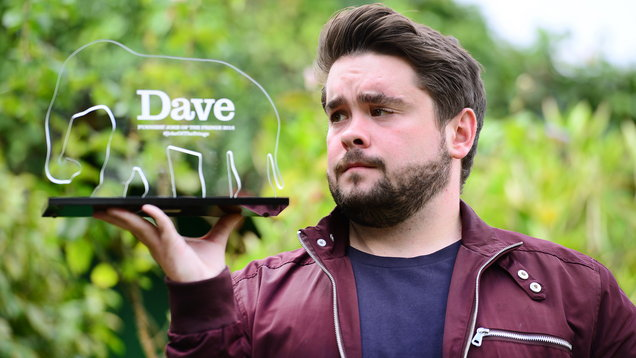 DAVE JOKE OF THE FRINGE 2018 WINNER ADAM ROWE
