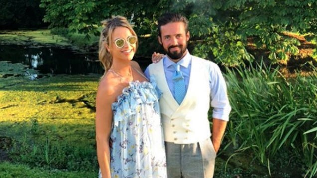 Vogue Williams reveals first pic from wedding and her dress is STUNNING