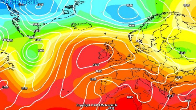 Weather experts predict HEATWAVE set to explode AGAIN
