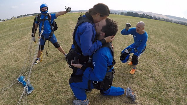 PA Real Life - Matej Navara - Skydive proposal