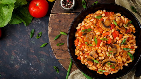Hearty Autumn Bean Stew
