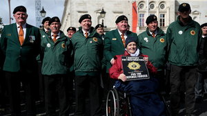 Parade for Respect and Loyalty for the Irish Defence Forces