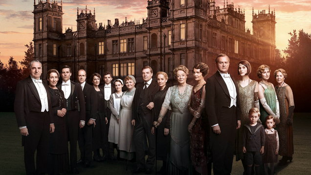 Downton Abbey series 6 cast