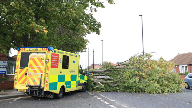 Storm Bronagh set to batter parts of the UK and Ireland