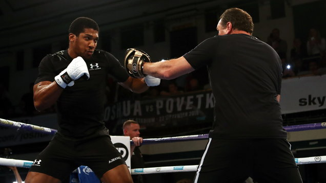 Anthony Joshua v Alexander Povetkin Public Workout - York Hall