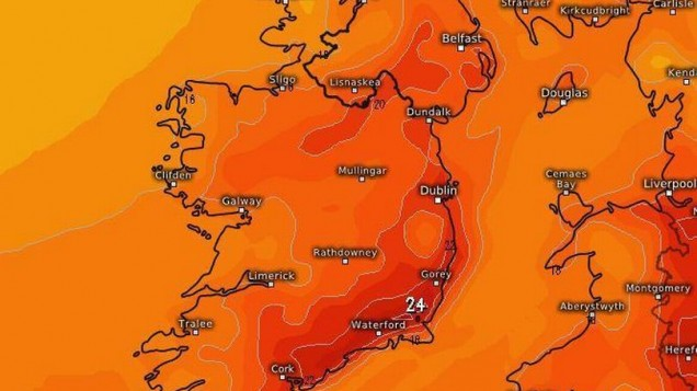 Met Éireann forecast SEARING weather ahead - and it's due A LOT sooner than you think