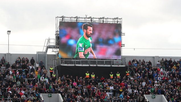 Celtic and Republic of Ireland Legends v Manchester United Legends - Liam Miller Tribute Match - Pairc Ui Chaoimh