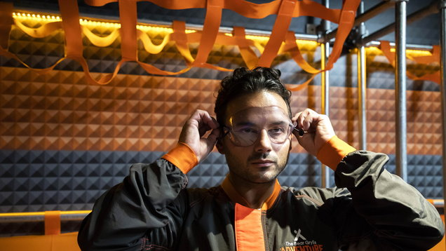 Ryan Thomas at the Bear Grylls Adventure