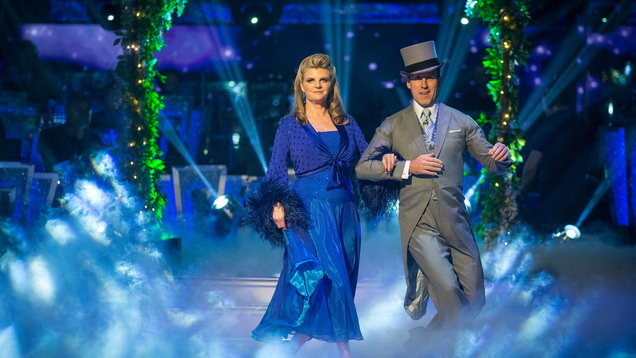 Susannah Constantine first out on Strictly Come Dancing