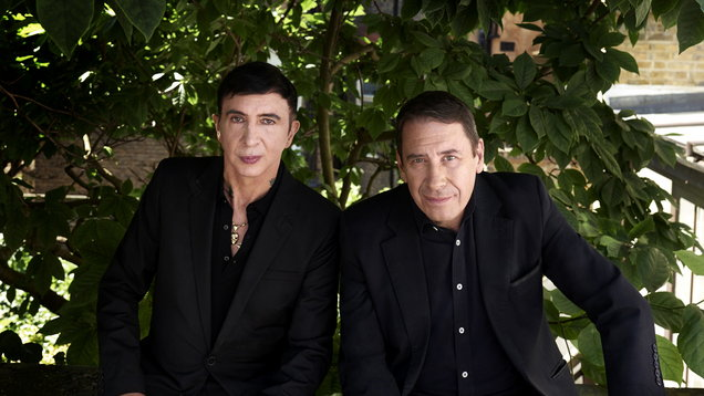 Jools Holland and Marc Almond