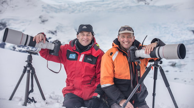 Chris Packham is urging us to protect Antarctica: 'It's not the wilderness it should be'