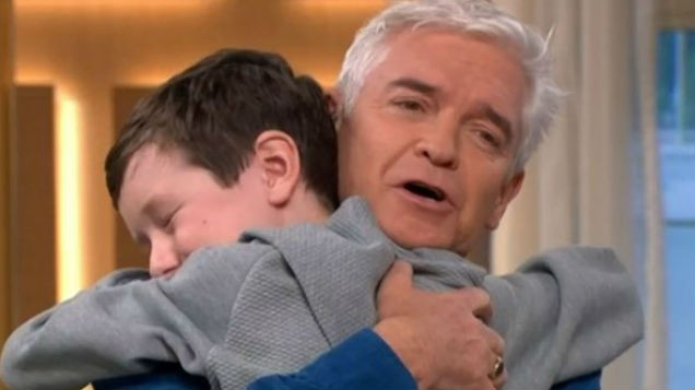 WATCH: This Morning viewers in TEARS as 10 year old superfan meets his idols