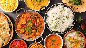 assorted indian dish