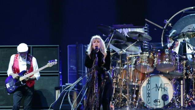 Fleetwood Mac on stage