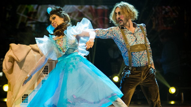 'The best experience of my life' - controversial Seann Walsh voted off Strictly