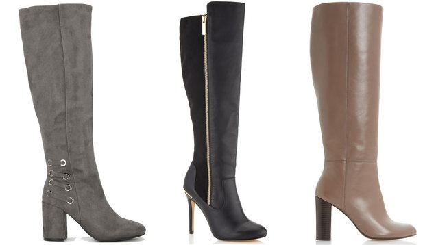 3dd7bfc855fd 9 of the best knee-high boots to go with your autumn midi skirt ...