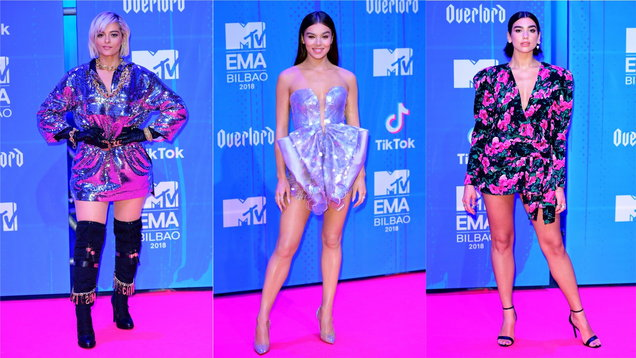 15f7368a43 Celebs really went wild with their fashion choices at the MTV European  Music Awards