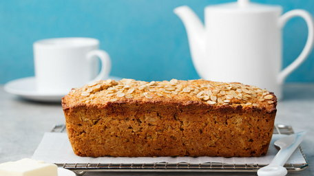 Quick & Easy Honey & Oat Bread