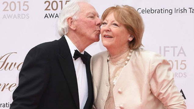 Kathleen Watkins gives health update on husband Gay Byrne