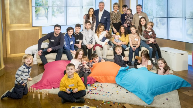 Britain's LARGEST family welcome baby number 21 after a VERY speedy labour