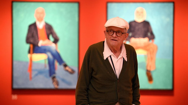 David Hockney RA: 82 Portraits and 1 Still-life exhibition