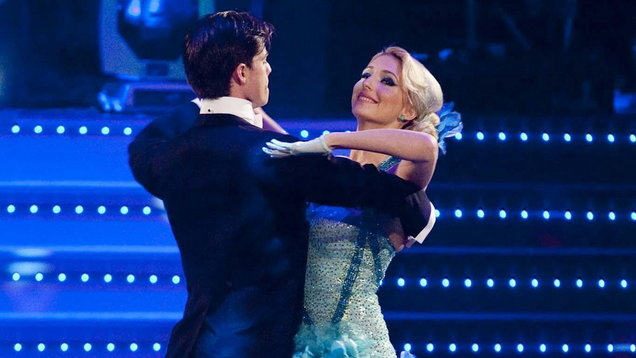 Ali Bastian and her dance partner Brian Fortuna perform at Blackpool during the 2009 series of Strictly Come Dancing (Image: PA)