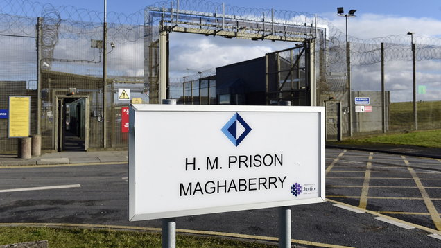 Maghaberry Prison food hygiene rating