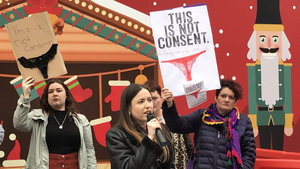 Sexual violence protest