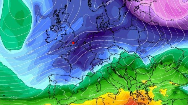 SNOW forecast to hit Ireland as NEW Beast from the East swoops in
