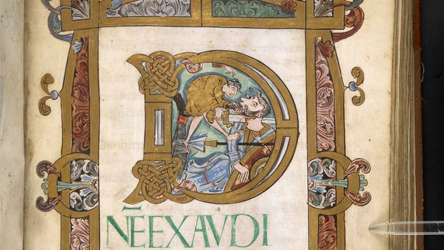 A manuscript which the British Library is putting online