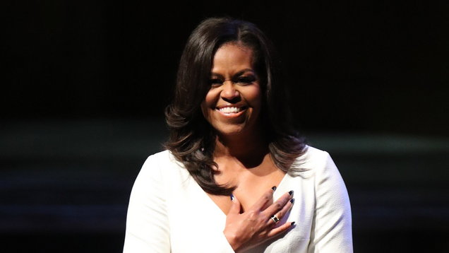 Michelle Obama visits UK
