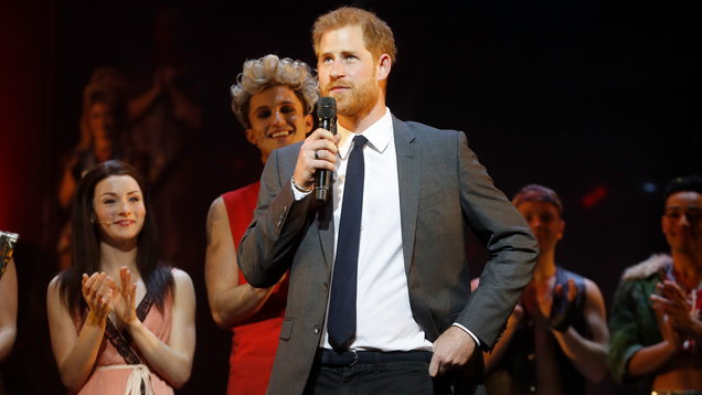 The Duke of Sussex attends gala performance Of Bat Out Of Hell - The Musical
