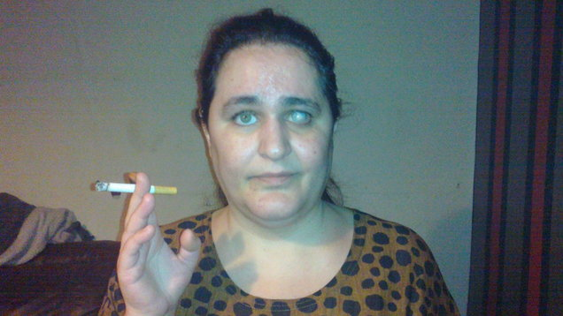 Mum-of-two tells how she's addicted to eating chalk and cigarette butts